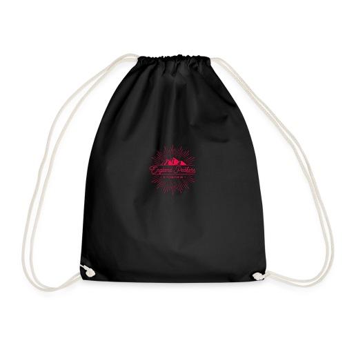 England Peakers Raspberry - Drawstring Bag
