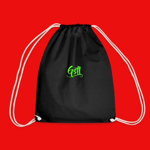 Gstl_Logo_-Green- - Drawstring Bag
