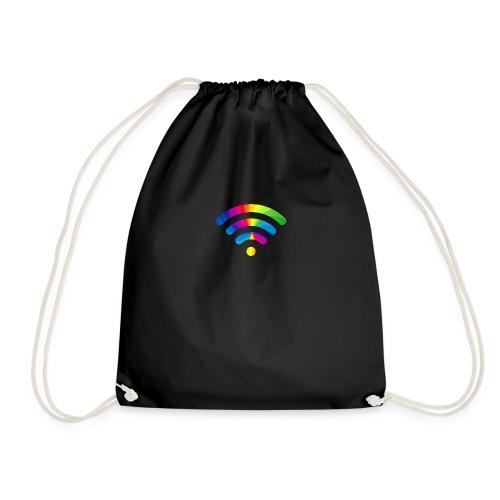 wifi signal rainbow - Gymtas