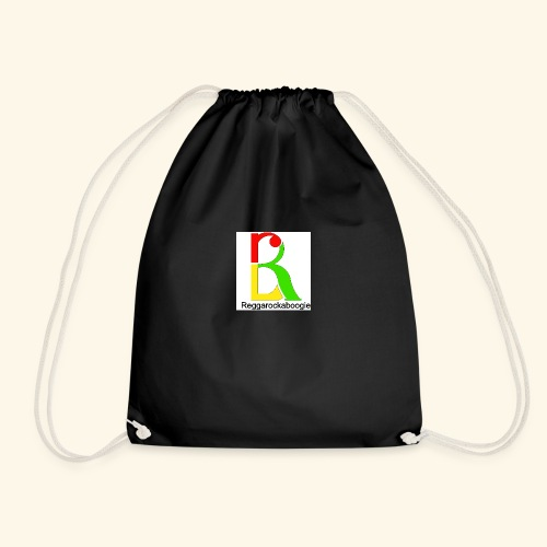 band logo coloured - Drawstring Bag