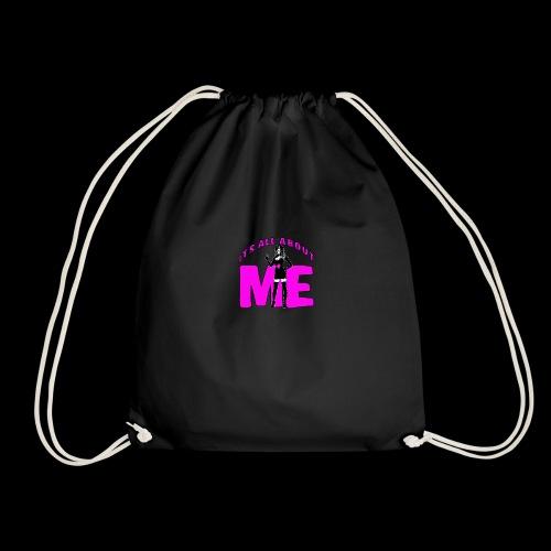 All About me Nurse Pink - Drawstring Bag