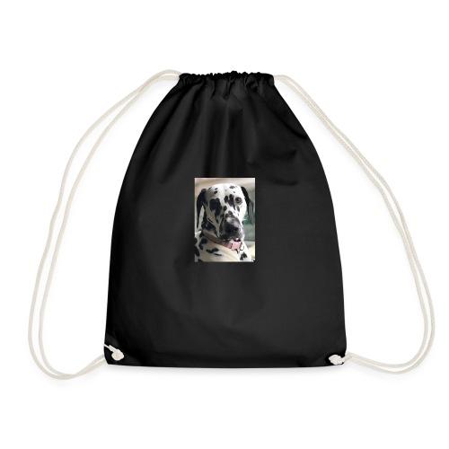 Dalmatian Daisy Dog - Drawstring Bag
