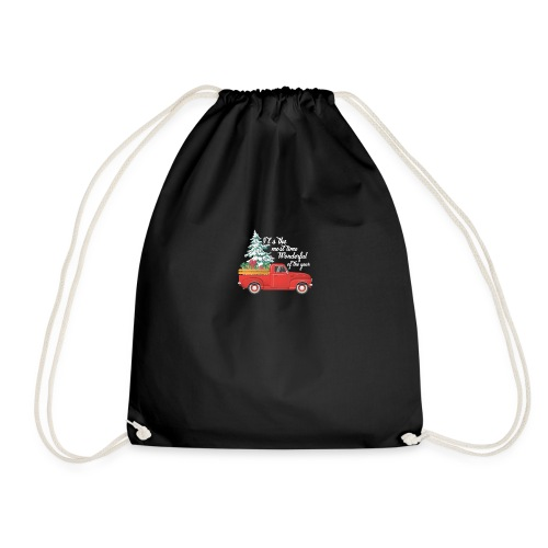 It's The Most Time Wonderful Of The Year - Drawstring Bag