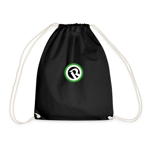 Logo Reborn Green Flat - Drawstring Bag