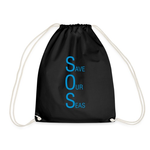 Save Our Seas 1 - Drawstring Bag