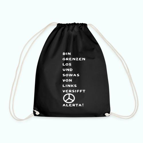 linksversifft - Drawstring Bag