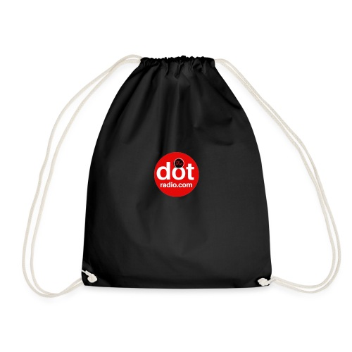 TheDotRadio.com LOGO - Drawstring Bag