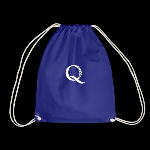 Q Anon Q-Anon Original Logo - Turnbeutel