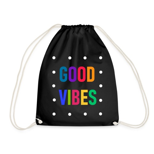 Good vbes - Drawstring Bag