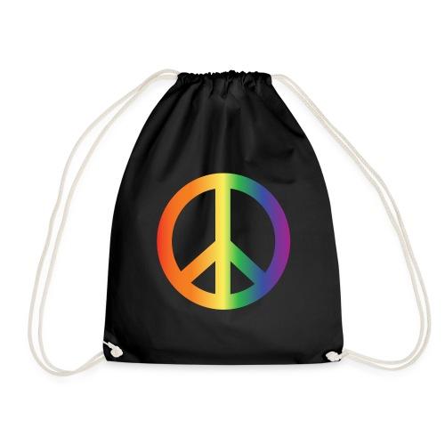 Pride Peace Gradient - Drawstring Bag