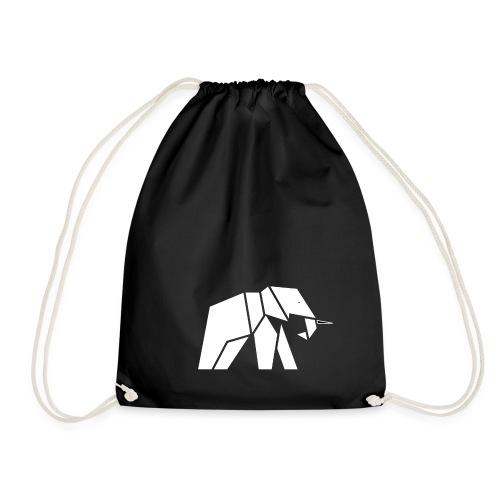 Schönes Elefanten Design für Elefanten Fans - Turnbeutel