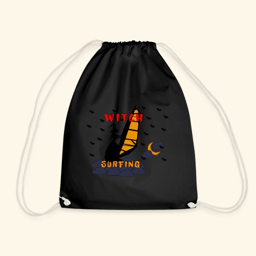 WITCH SURFING - Drawstring Bag