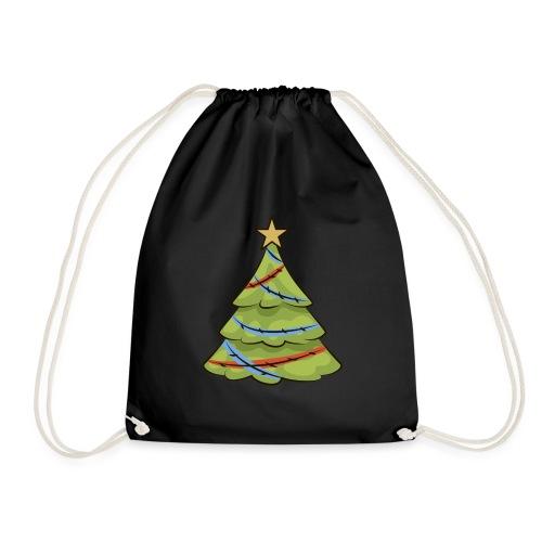 Christmas tree, tree, christmas, new year - Drawstring Bag