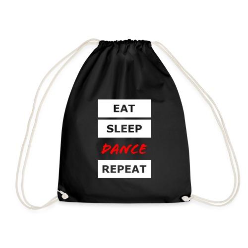 EAT SLEEP DANCE REPEAT - Turnbeutel