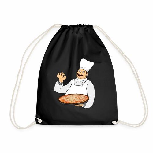 Pizza Bäcker - Turnbeutel