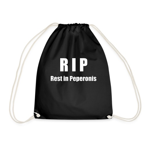 RIP Rest in Peperonis - Turnbeutel