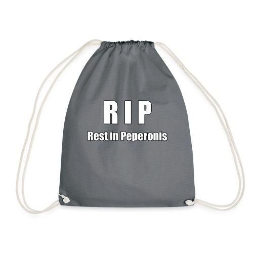RIP Rest in Peperonis - Turnbeutel