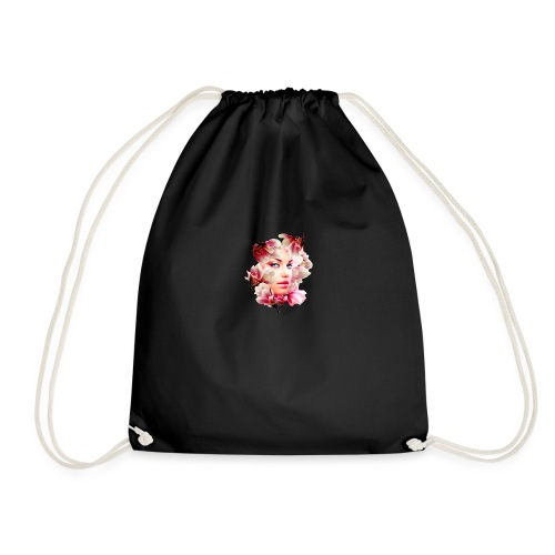 magnolia girl - Drawstring Bag