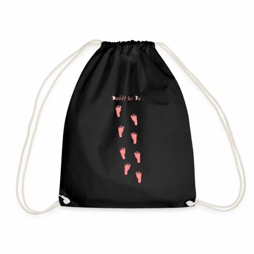 Daddy to be - Girl - Drawstring Bag