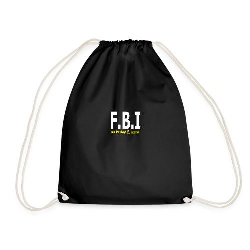 FBI - BLACK - Mochila saco