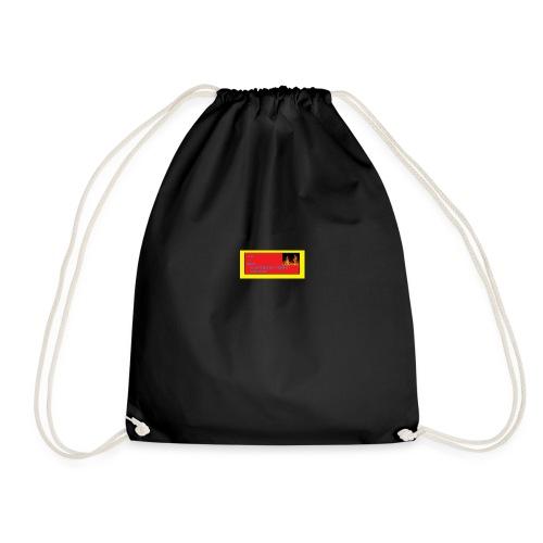 twitch log merch - Drawstring Bag