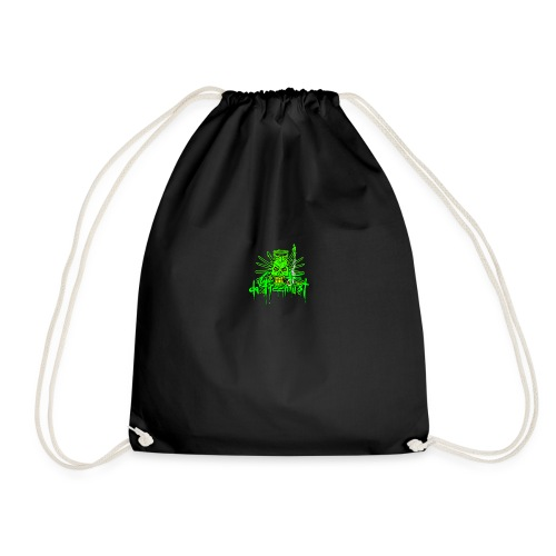 GFSkullOnlyColorShirt - Drawstring Bag