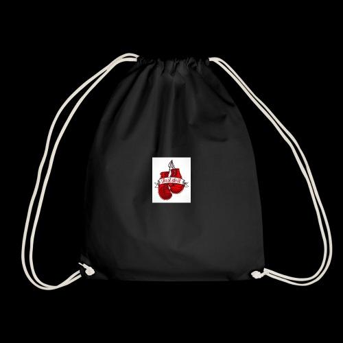 the boxing one - Drawstring Bag