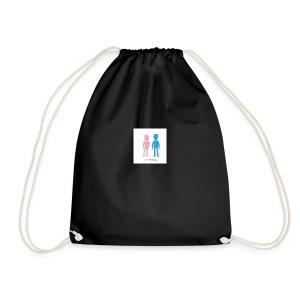 Girl Meets Boy - Drawstring Bag