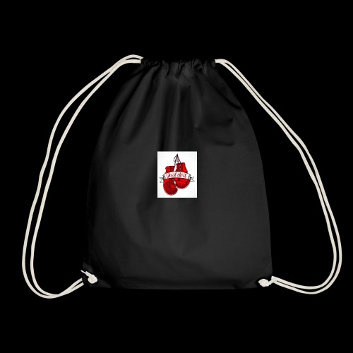 the boxing one - Drawstring Bag