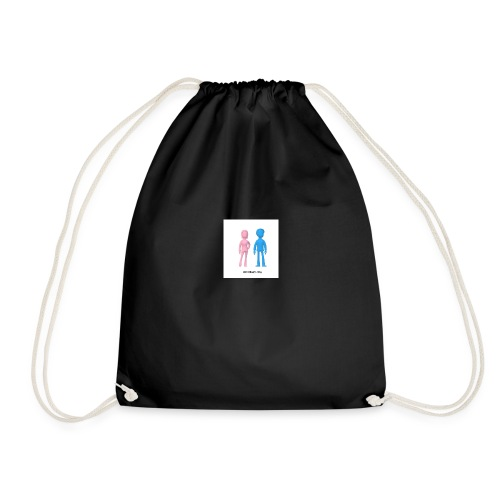 Girl Meets Boy - Drawstring Bag