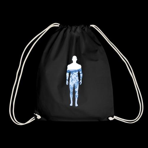 Water Man - Drawstring Bag