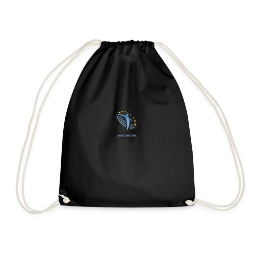 01 ubie on white centered png - Drawstring Bag