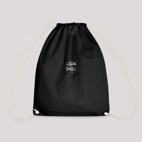 Fish05 - Drawstring Bag