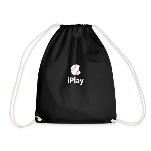 Baseball Logo iPlay - Drawstring Bag
