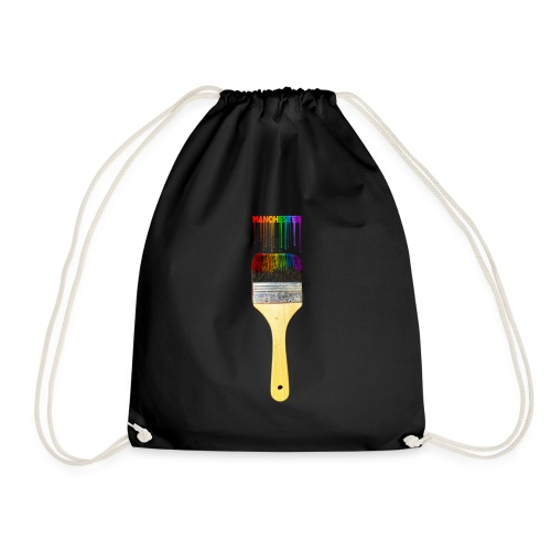 Paint the Town! Manchester! - Drawstring Bag