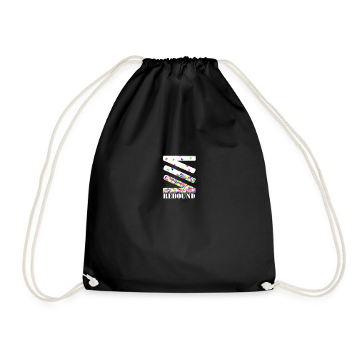 Falling logo - Drawstring Bag