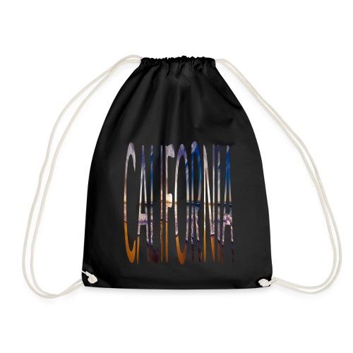 California Photo Word - Drawstring Bag