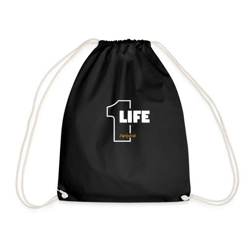 1 Life - One Life T-Shirt von Erfolgshirts - Turnbeutel