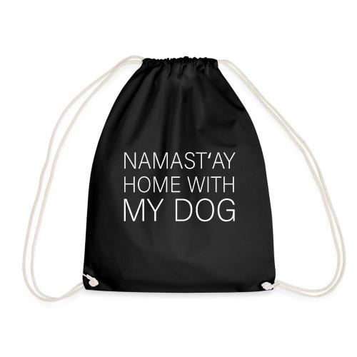 Lustiger Spruch Hundehalter Hundeliebhaber Hund - Turnbeutel