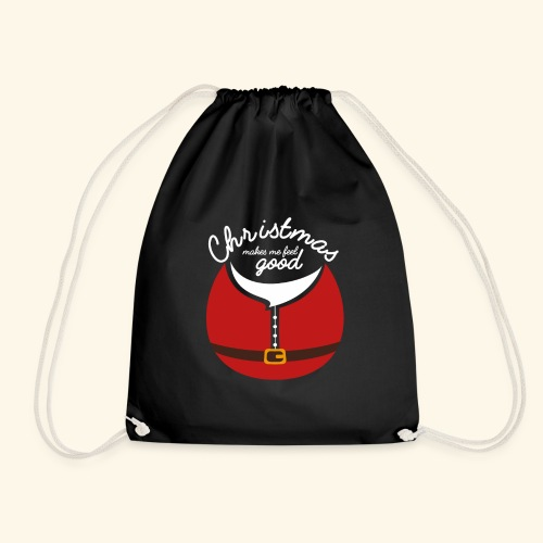 XMAS T SHIRT DESIGN e1 - Drawstring Bag
