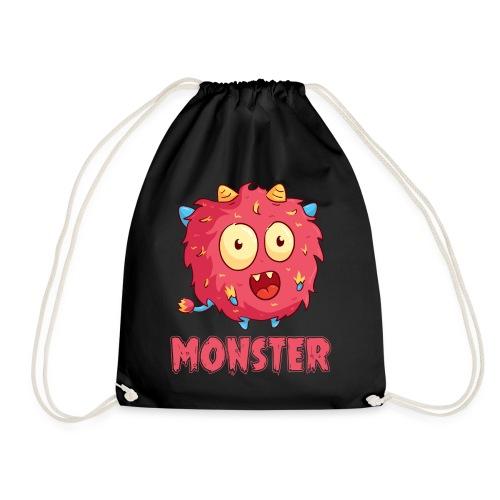 I've created a monster Partnerlook - Turnbeutel