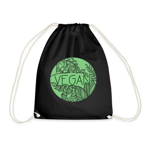 Vegan und Blättersalat - Turnbeutel