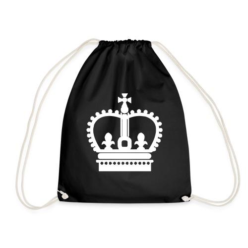 Krone Symbol König Kaiser Königin Mittelalter - Turnbeutel