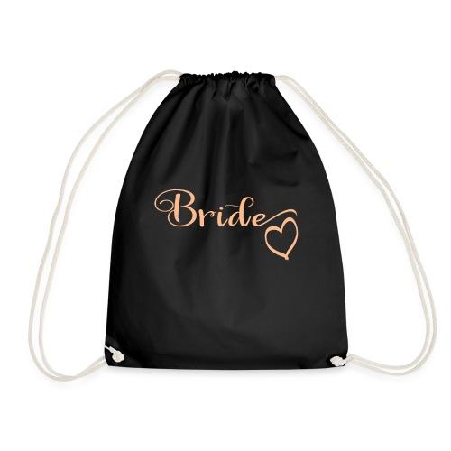 JGA Gruppenshirt Bride Braut - Turnbeutel