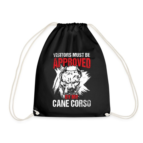 Cane Corso Besucher Beschützen Bewachen - Turnbeutel