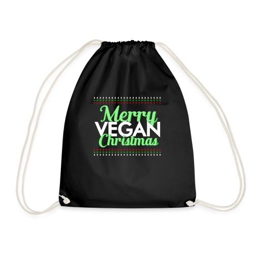 Merry vegan christmas - Mochila saco