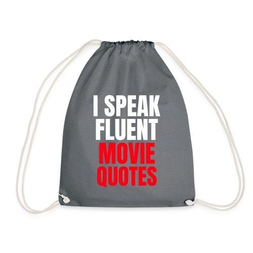 I Speak Fluent Movie Quotes - Turnbeutel
