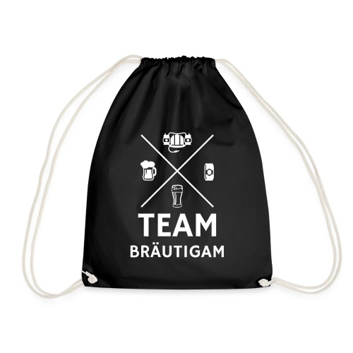 Team Bräutigam Junggesellenabschied - Turnbeutel