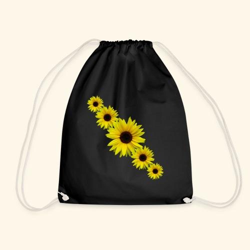 Sonnenblume, Sonnenblumen, Blumen - Turnbeutel