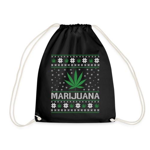Ugly Christmas Marijuana - Turnbeutel